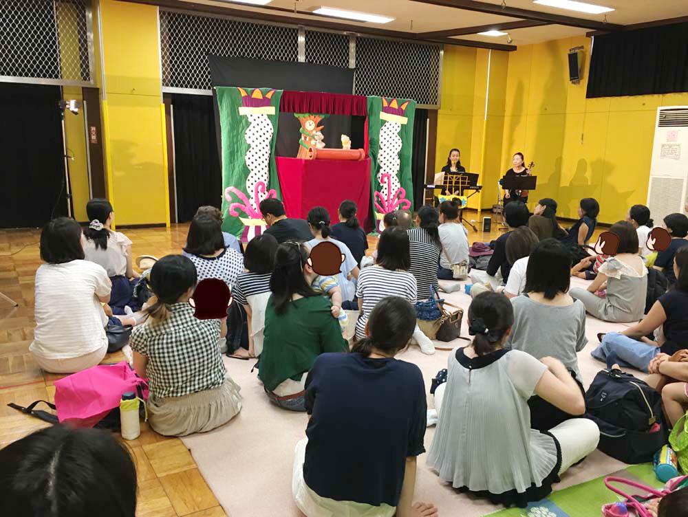 20180703 - 2018年7月3日(火)武蔵野市立桜堤児童館